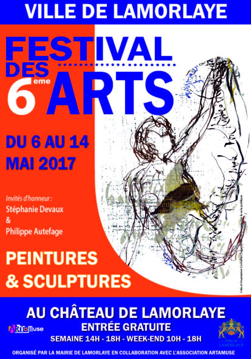 Affiche festival des arts2017 bat